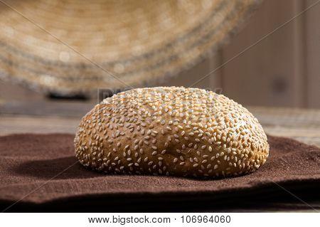 Fresh Baked Sesame Seed Bun
