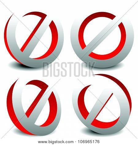 Prohibition, Restriction, No Entry Sign. For No Access, Prevention Themes.