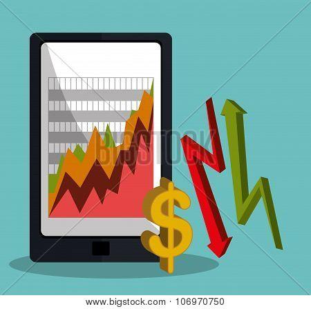 Stock market with statistics
