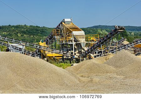 Sand And Gravel Production