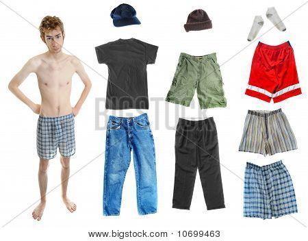 Young Teen In Underwear