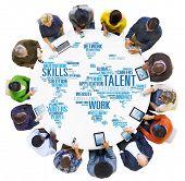 Talent Expertise Genius Skills Professional Concept poster