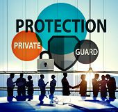 Security Protection Secrecy Privacy Firewall Guard Concept poster