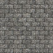 Multi-Colore Paving Slabs as Wavy Parallelograms. Seamless Tileable Texture. poster