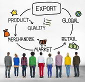Export Product Merchandise Retail Quality Concept poster