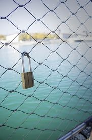 Lock on a Bridge
