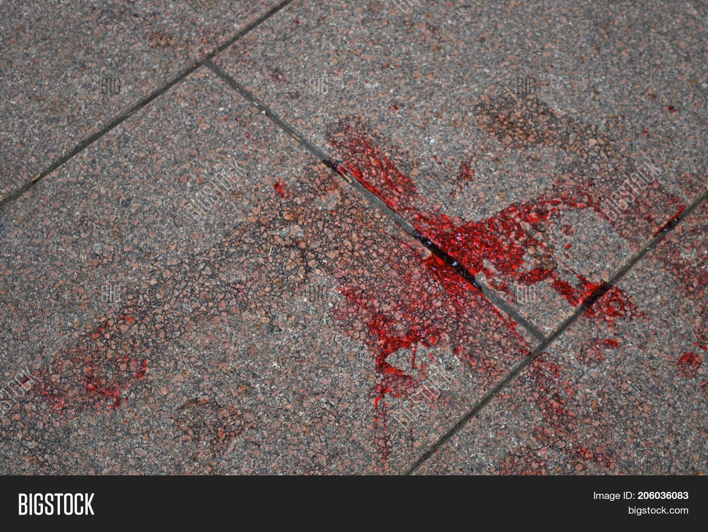 Blood Left On Tile Image Photo Free Trial Bigstock Floor, ground, substance designer, tiles, wood • tags: blood left on tile image photo free