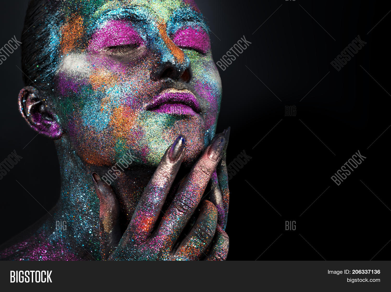 Young Artistic Woman Image Photo Free Trial Bigstock