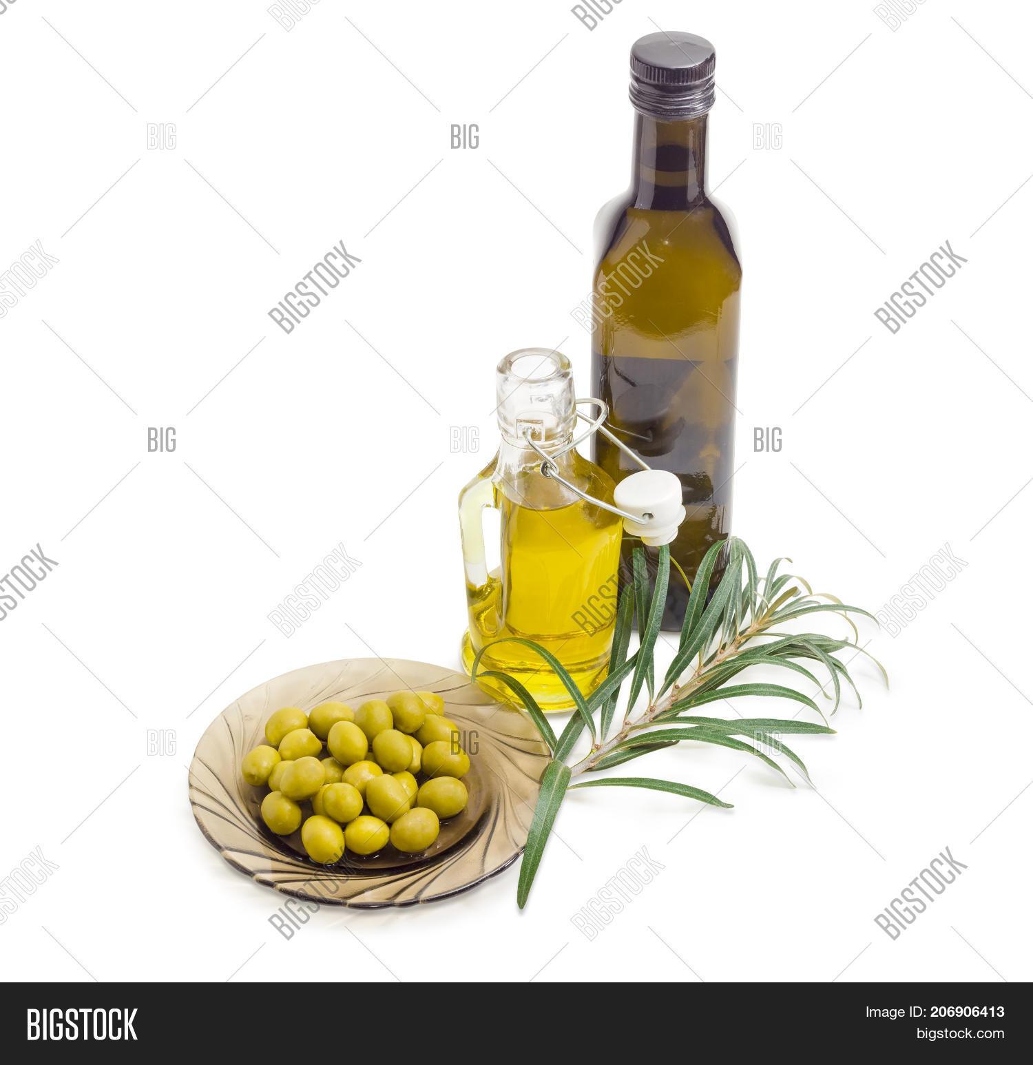 Green Olives On Dark Image & Photo (Free Trial) | Bigstock