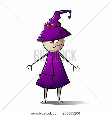 Hallowen, horror man illustration Vector eps 10