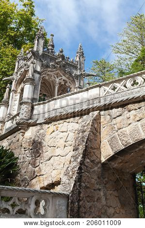 Bridge Of Quinta Da Regaleira, Sintra, Portugal