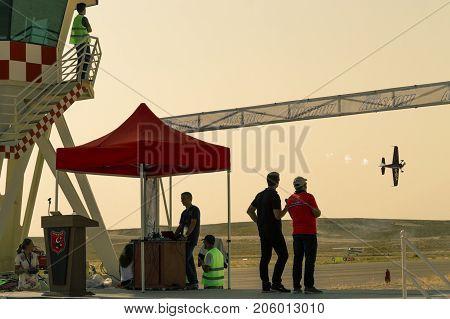 Sivrihisar, Eskisehir, Turkey - September 17, 2017: Sivrihisar Airshows (shg), Small Aviation Event