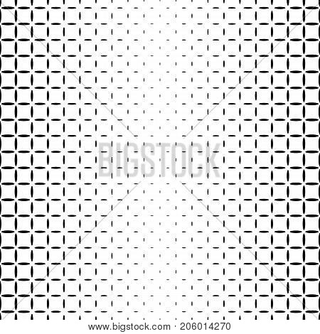 Monochrome star pattern - abstract vector background graphic design