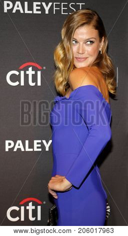 Adrianne Palicki at the 11th Annual PaleyFest Fall TV Previews - Netflix's 'The Orville' held at the Paley Center for Media in Beverly Hills, USA on September 13, 2017.