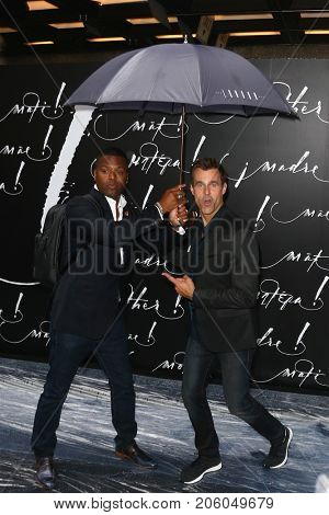 NEW YORK-SEP 13: A.J. Calloway (L) and Cameron Mathison attend the