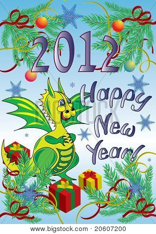 the year of the dragon.