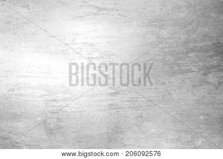 Grey white brushed background with polished slate texture
