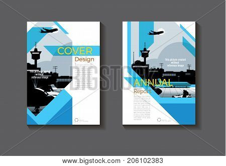 blue abstract cover design modern book cover abstract Brochure cover templateannual report magazine and flyer layout Vector a4