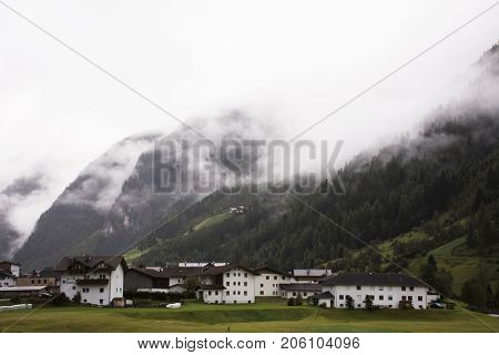 Classic House In Pitztal Valley In Tyrol, Austria