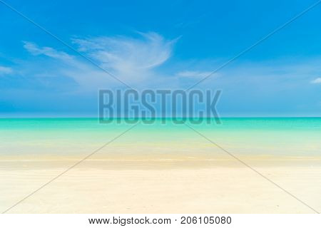 Beach of the Caribbean islands