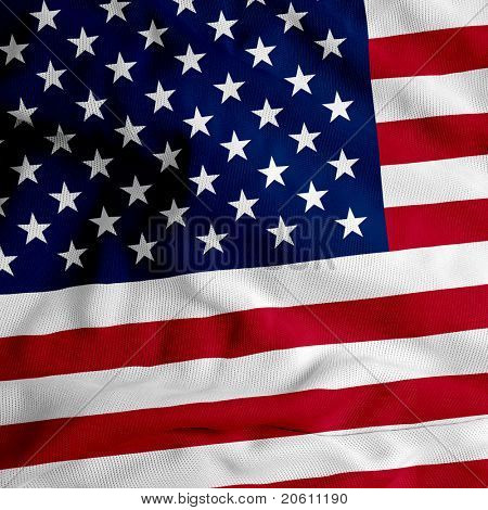 cloth texture USA flag