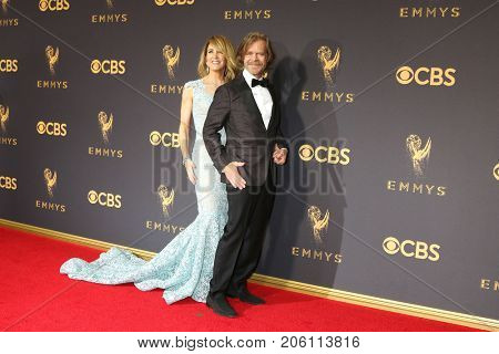 LOS ANGELES - SEP 17:  Felicity Huffman, William H Macy at the 69th Primetime Emmy Awards - Arrivals at the Microsoft Theater on September 17, 2017 in Los Angeles, CA