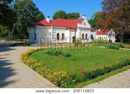 Ukrainian gentry house 17 -18 centuries in summer