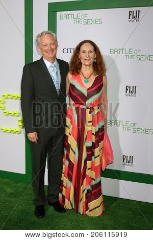 LOS ANGELES - SEP 16:  Michael Chieffo, Beth Grant at the