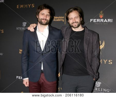 LOS ANGELES - SEP 14:  Matt Duffer, Ross Duffer at the Television Academy Honors Emmy Nominated Producers at the Montage Hotel on September 14, 2017 in Beverly Hills, CA