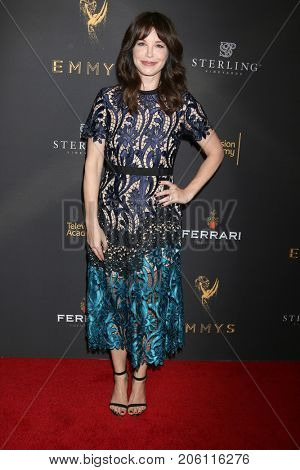 LOS ANGELES - SEP 14:  Christy Stratton at the Television Academy Honors Emmy Nominated Producers at the Montage Hotel on September 14, 2017 in Beverly Hills, CA