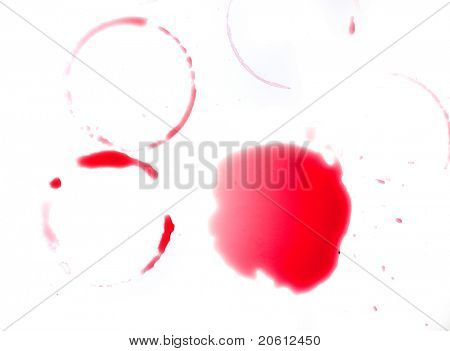 red ring stains poster