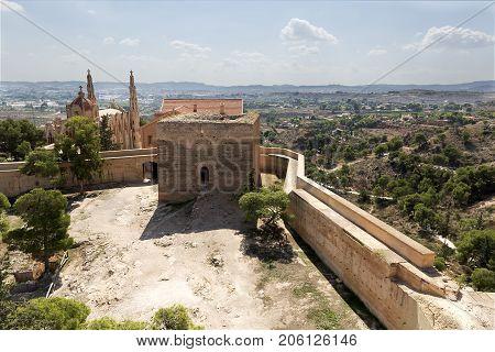 View Of The Santurari Of Maria Magdalena