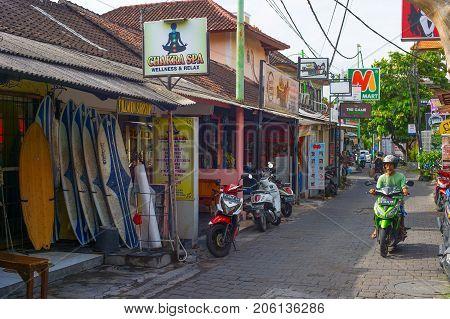 Kuta Street Shopping, Bali Island