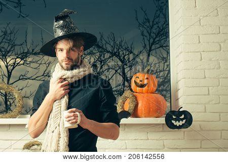 Halloween Holiday Symbols And Decorations