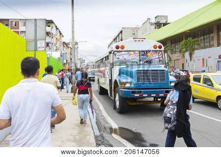 Panama City August 2017: In August tourists visiting the city can count on public transport such as taxis and buses that ensure efficient connections at very competitive prices to reach each destination.