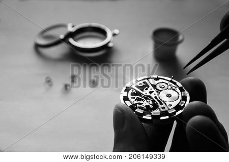Process Of Repair Of Mechanical Watches