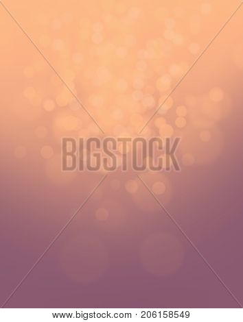 Abstract background with space for text: Bright shining lights autumn morning