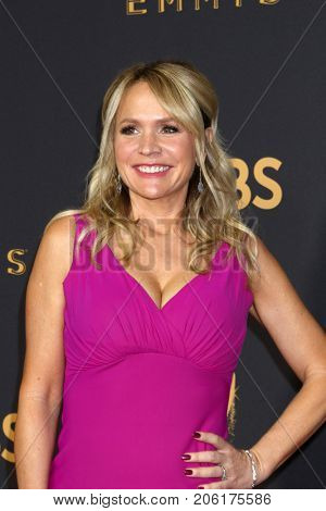LOS ANGELES - SEP 17:  Barbara Alyn Woods at the 69th Primetime Emmy Awards - Arrivals at the Microsoft Theater on September 17, 2017 in Los Angeles, CA