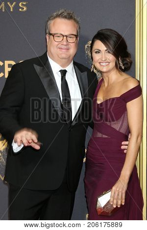 LOS ANGELES - SEP 17:  Eric Stonestreet, Guest at the 69th Primetime Emmy Awards - Arrivals at the Microsoft Theater on September 17, 2017 in Los Angeles, CA