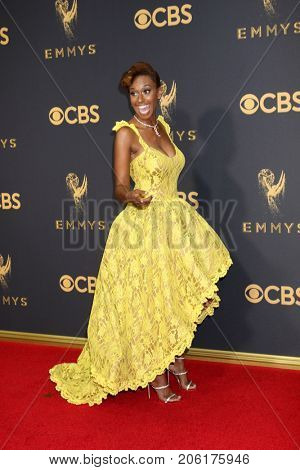 LOS ANGELES - SEP 17:  Ryan Michelle Bathe at the 69th Primetime Emmy Awards - Arrivals at the Microsoft Theater on September 17, 2017 in Los Angeles, CA