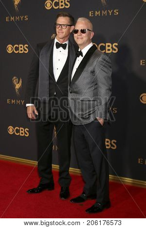 LOS ANGELES - SEP 17:  David Miller, Ryan Murphy at the 69th Primetime Emmy Awards - Arrivals at the Microsoft Theater on September 17, 2017 in Los Angeles, CA