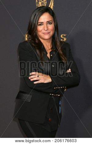 LOS ANGELES - SEP 17:  Pamela Adlon at the 69th Primetime Emmy Awards - Arrivals at the Microsoft Theater on September 17, 2017 in Los Angeles, CA