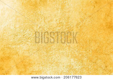 Yellow abstract background with soft texture