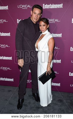 LOS ANGELES - SEP 15:  Kevin Alejandro arrives for the Entertainment Weekly Pre Emmy Party on September 15, 2017 in West Hollywood, CA