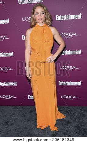 LOS ANGELES - SEP 15:  Erika Christensen arrives for the Entertainment Weekly Pre Emmy Party on September 15, 2017 in West Hollywood, CA
