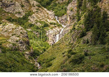 Mountain Stream in Grand Tetons National Park