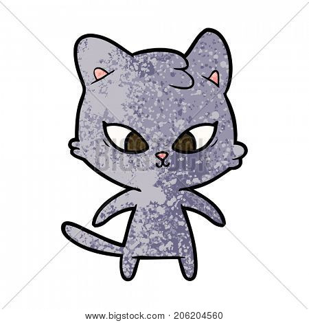 cute cartoon cat