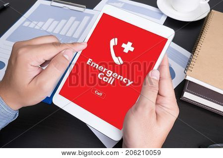 Emergency Call Center Service Urgent Accidental Hotline Medical Service