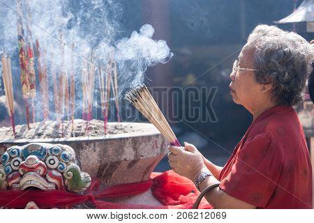 Chinatown, Bangkok, During The Chinese New Year