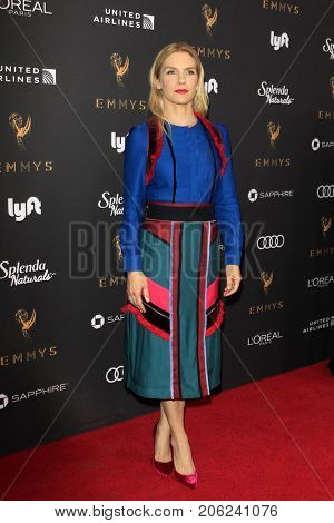 LOS ANGELES - SEP 15:  Rhea Seehorn at the 69th Primetime Emmy Awards Performers Nominee Reception at the Wallis Annenberg Center for the Performing Arts on September 15, 2017 in Beverly Hills, CA